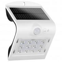 Aplica solara LED Butterfly, 1.5W, 220lm, lumina rece - 6500 K, cu senzor de miscare, IP65