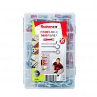 Set Fischer Profi-Box 544399, dibluri + carlige, 70 bucati