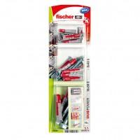 Dibluri universale, din nylon, Fischer Duopower 536249, 6/8/10 mm + suruburi, set 36 bucati