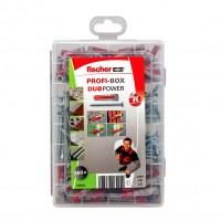 Set Fischer Profi-Box 538622, dibluri 6/8 mm + suruburi, 160 bucati