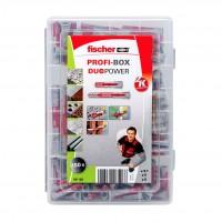 Set Fischer Profi-Box 541108, dibluri 6/8 mm, 150 bucati
