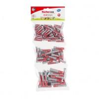 Set Fischer Profi-Box 544405, dibluri nylon, 6/8/10 mm, 130 bucati