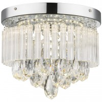 Plafoniera LED Manilo 68598A, 12W, 960 lm, lumina neutra, decoratiuni transparente