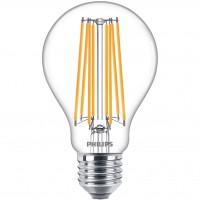 Bec LED filament Philips clasic A70 E27 17W 2452lm lumina calda 2700 K