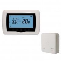 Termostat de ambient pentru centrala, wireless, Smart PNI CT35, programabil, digital, Wifi, 2 x LR3