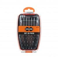 Set adaptor magnetic si 38 biti insurubare, Holzer 8060139