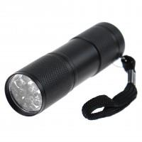 Lanterna LED UV Hoff, alimentare baterii (3 x AAA), 1W