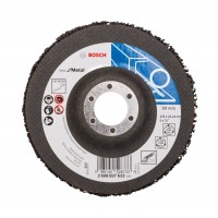 Disc pentru curatare metale, Bosch Best for Metal, 2608607633, 125 x 22.23 x 5 mm