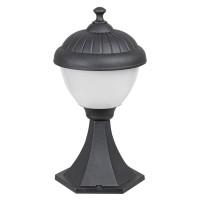 Stalp de iluminat ornamental Modesto 7675, 1 x E27, H 33 cm, negru