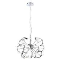 Suspensie LED Mistral CH 01-1940, 40W, 2861lm, lumina neutra, metal cromat