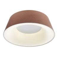 Plafoniera LED Saris MBR 01-1934, 36W, 2752lm, lumina neutra, maro mat