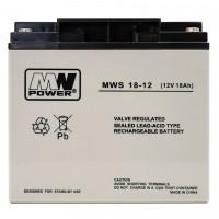 Acumulator cu gel MW 18-12S, 12V, 18Ah