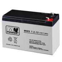 Acumulator cu gel MW 7.2-12, 12V, 7.2Ah