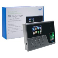 Sistem de pontaj biometric PNI FINGER 700, acces cu parola, cititor de amprenta si card electromagnetic