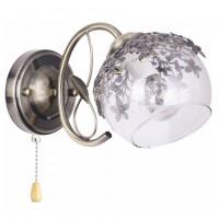 Aplica Desert LY-3461, 1 x E27, bronz + alb transparent