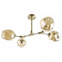 Lustra Scrap LY-3424, 4 x E27, bronz + bej