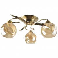 Lustra Crinkle LY-3437, 3 x E27, bronz + bej