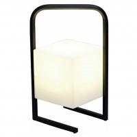 Veioza LED Square KL 120000, 1.2W, negru + alb opal