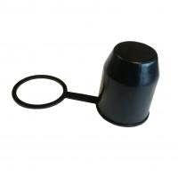 Capac protectie carlig pentru remorca auto, plastic, negru