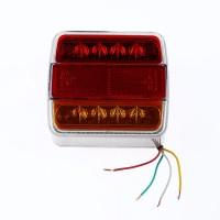 Lampa spate pentru remorca auto, 14 leduri, 10 x 10 cm