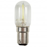 Bec LED filament pentru masina de cusut Hepol tubular B15D 2W 200lm lumina rece 6500 K