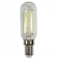 Bec LED filament pentru hota Hepol tubular E14 4W 400lm lumina rece 6500 K