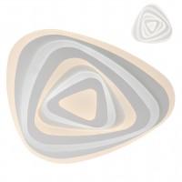Plafoniera LED Stratos TR 01-2336, 93W, 7632lm,  lumina calda / rece, telecomanda, dimabila, acril satinat + alb mat