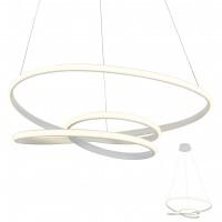 Suspensie LED Sintra 01-2191, 57W, 3705lm, lumina calda, dimabila, alba