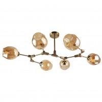 Lustra Scrap LY-3480, 6 x E27, bronz + bej