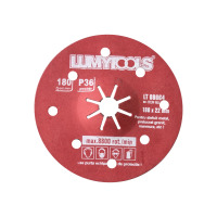 Disc glazurat, Lumytools LT08664, 180 x 22 mm, granulatie 36