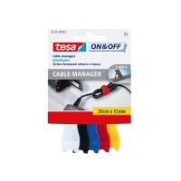 Banda arici, pentru fixare cabluri, Tesa, 20 cm x 12 mm, set 5 bucati