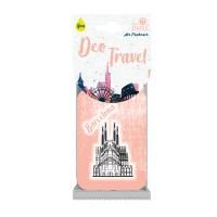 Odorizant auto, Deo Travel Barcelona, carton parfumat, 9 x 6 cm