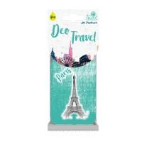 Odorizant auto, Deo Travel Paris, carton parfumat, 9 x 6 cm