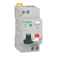 Intrerupator automat modular diferential Schneider Electric EZ9D32606, 4.5kA, 1P+N, 16A, 30mA, curba C