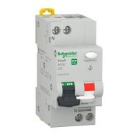 Intrerupator automat modular diferential Schneider Electric EZ9D32632, 4.5kA, 1P+N, 32A, 30mA, curba C