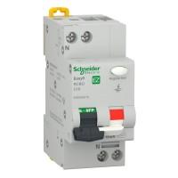 Intrerupator automat modular diferential Schneider Electric EZ9D62616, 4.5kA, 1P+N, 16A, 10mA, curba C