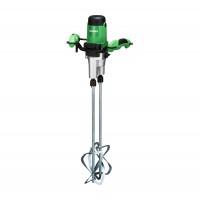 Mixer electric pentru vopsele / adezivi / mortare, Hikoki UM22VYST, cu 2 palete, 1800 W, 220 mm