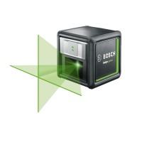 Nivela cu laser, cu linii verzi, cu autonivelare, Bosch Quigo Green, 0603663C00