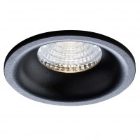 Spot LED incastrat MT 143 70379, 9W, 723lm, lumina neutra, negru mat
