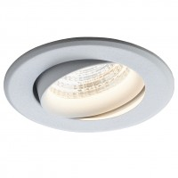 Spot LED incastrat MT 145 70383, 9W, 747lm, lumina neutra, alb mat