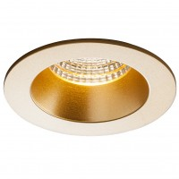Spot LED incastrat MT 144 70381, 9W, 729lm, lumina neutra, auriu mat