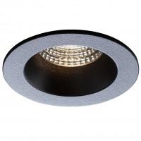 Spot LED incastrat MT 144 70382, 9W, 729 lm, lumina neutra, negru mat