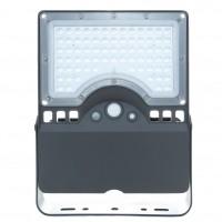 Corp de iluminat stradal solar LED, 40W, 4000 lm, lumina rece - 6000 K, cu senzor de miscare, IP65