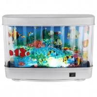 Decoratiune acvariu LED Abai 28963, pesti in miscare, 2W, 170lm, lumina calda