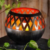 Lampa solara 14 LED-uri galbene Hoff, decoratiune, H 25 cm