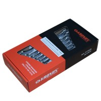 Chei fixe, duble, drepte, Kronus 616258, 6 - 22 mm, set 8 bucati