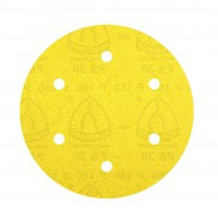 Disc abraziv cu autofixare, pentru lemn / vopsea / lac / chit, Klingspor PS 30 DK, 220 mm, granulatie 120