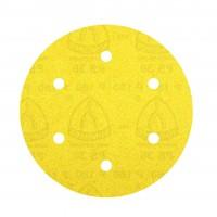 Disc abraziv cu autofixare, pentru lemn / vopsea / lac / chit, Klingspor PS 30 DK, 220 mm, granulatie 80