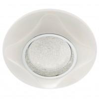 Plafoniera LED Lucino 05-912, 24W, 1694lm, lumina neutra, efect de sclipire, alba