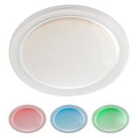 Plafoniera LED Andes 05-917, 48W, 3024lm, lumina calda / rece / multicolora, telecomanda, dimabila, control Tuya, alba